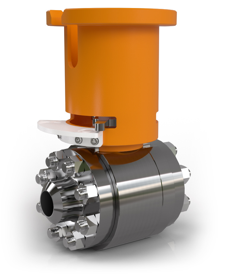 Ball valve featuring TPC Compact flange