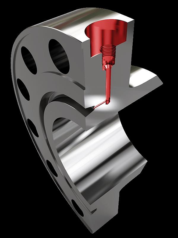 TPC Compact flange - Test Port